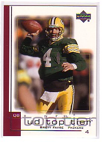 2001 Upper Deck Top Tier #64 Brett Favre