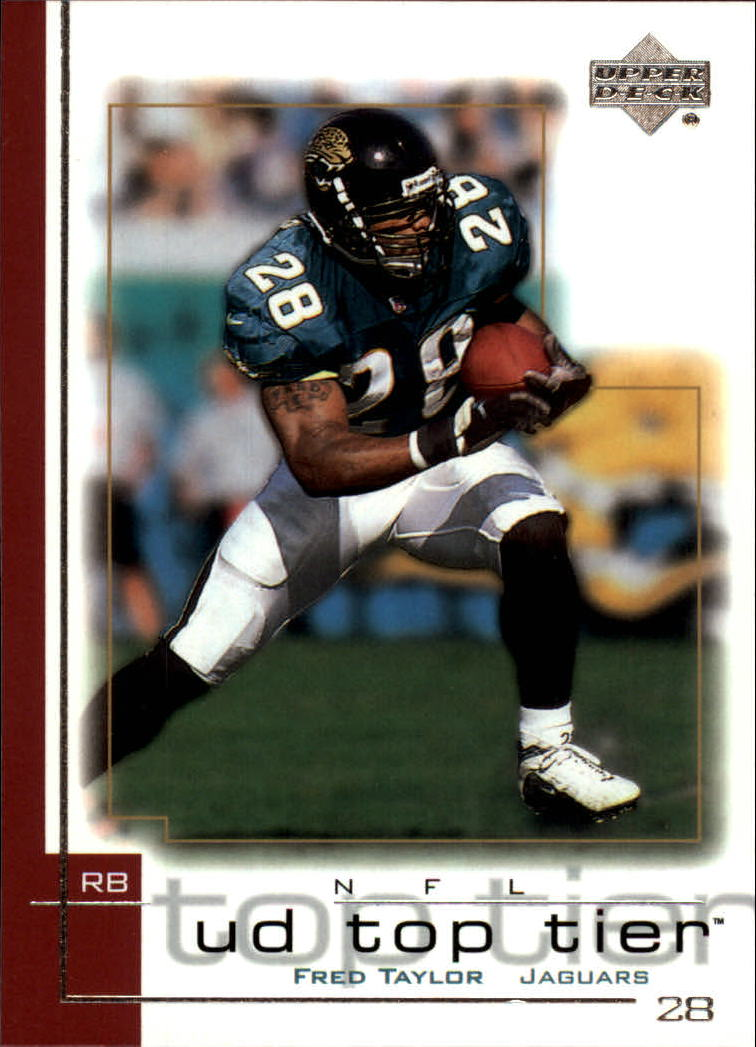2001 Upper Deck Top Tier #77 Fred Taylor