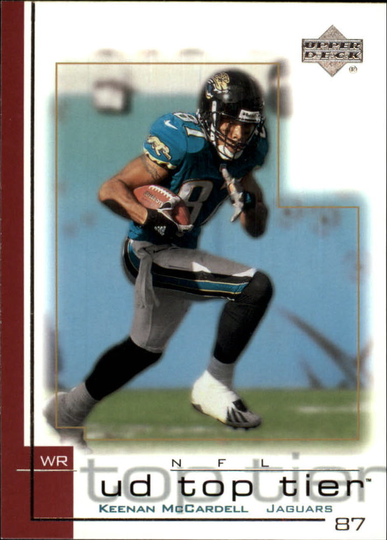 2001 Upper Deck Top Tier #79 Keenan McCardell