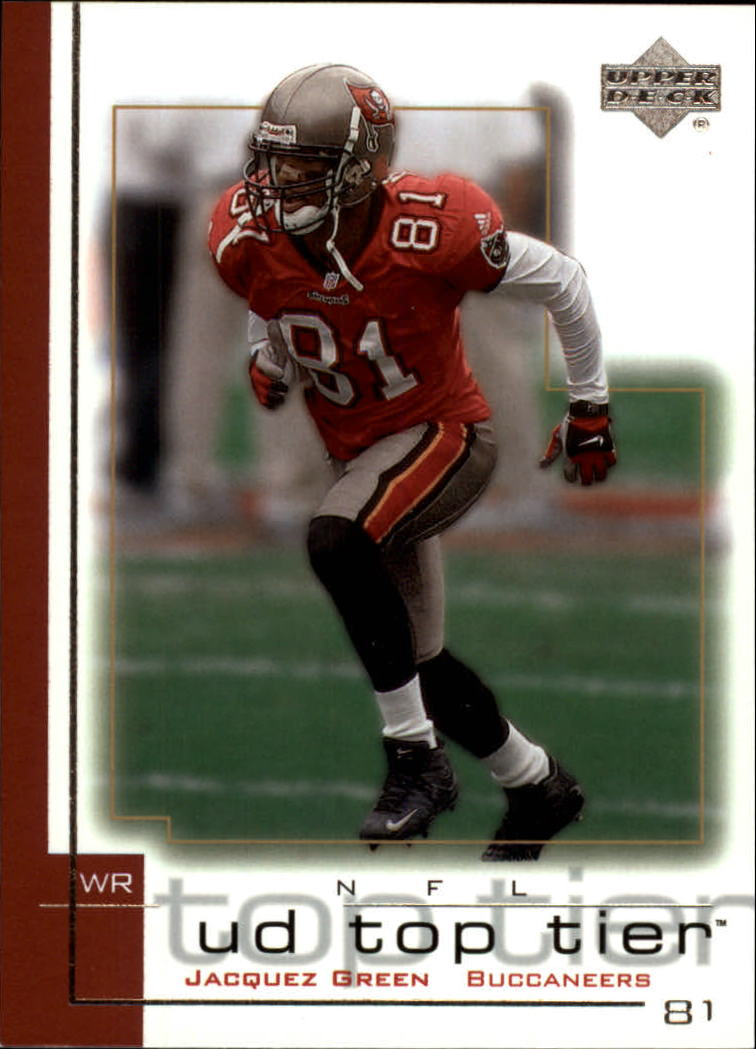 2001 Upper Deck Top Tier #166 Jacquez Green