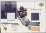 2001 Upper Deck Top Tier Home and Away Jerseys #HAMB Michael Bennett