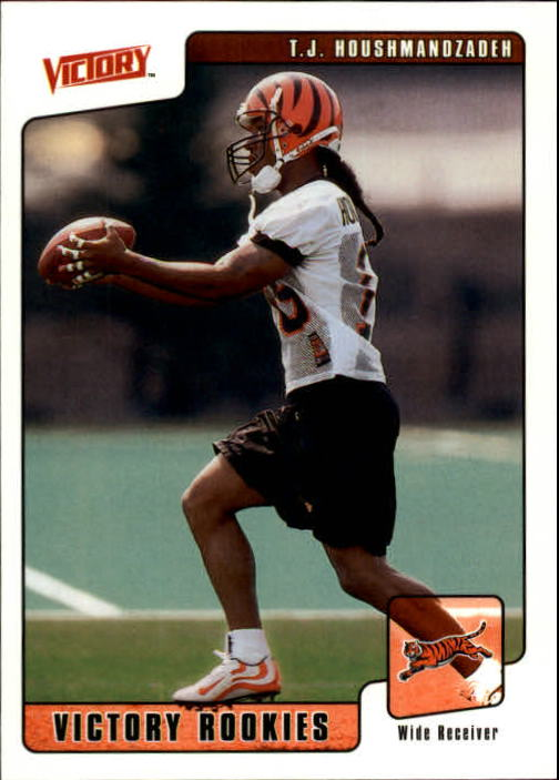 2001 Upper Deck Victory #385 T.J. Houshmandzadeh RC