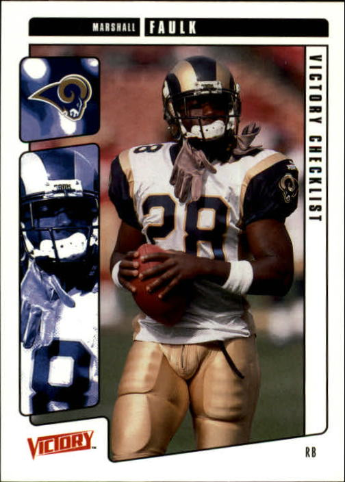 2001 Upper Deck Victory #439 Marshall Faulk CL