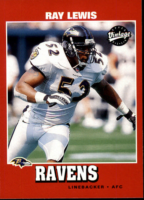 2001 Upper Deck Vintage #14 Ray Lewis
