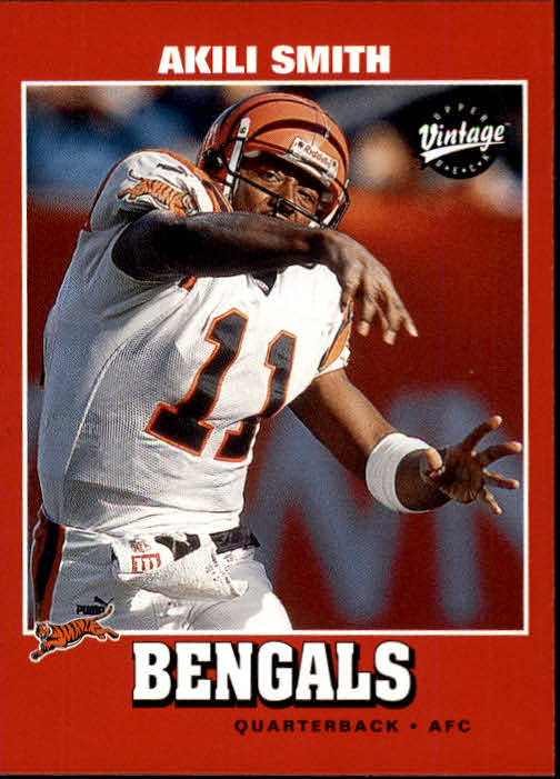 2001 Upper Deck Vintage #35 Akili Smith