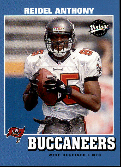 2001 Upper Deck Vintage #164 Reidel Anthony