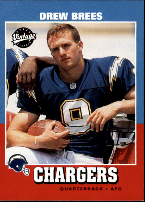 2001 Upper Deck Vintage #251 Drew Brees RC