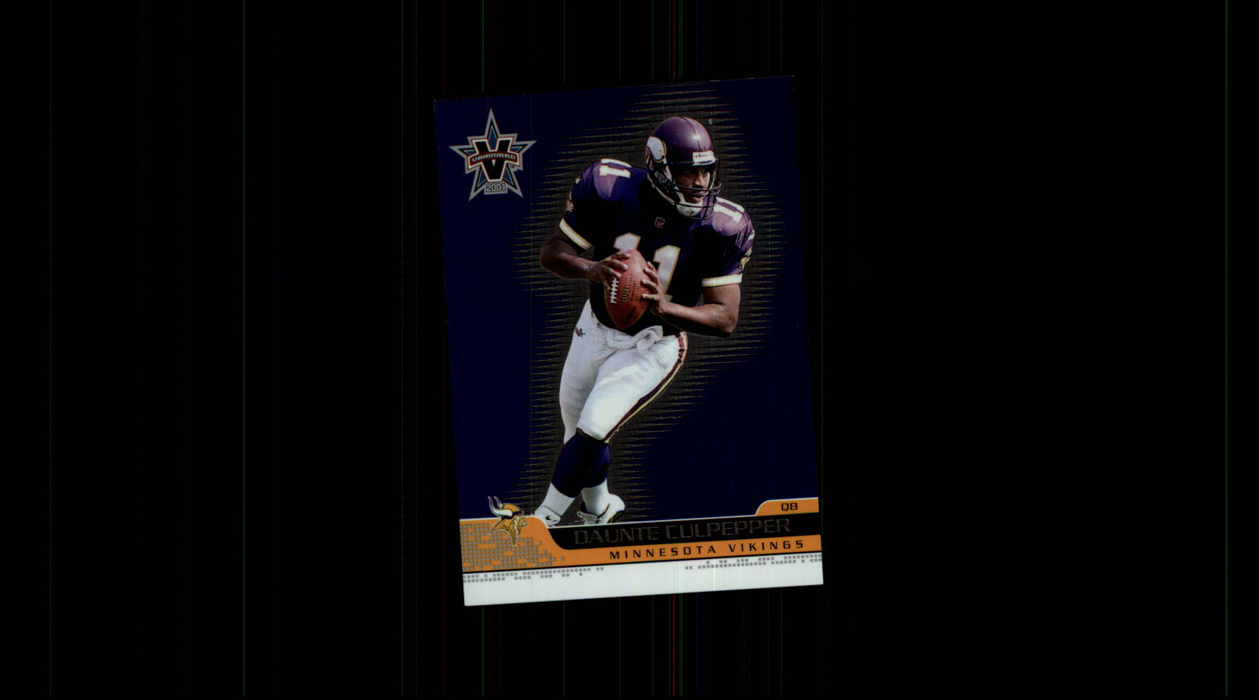 2001 Vanguard #52 Daunte Culpepper