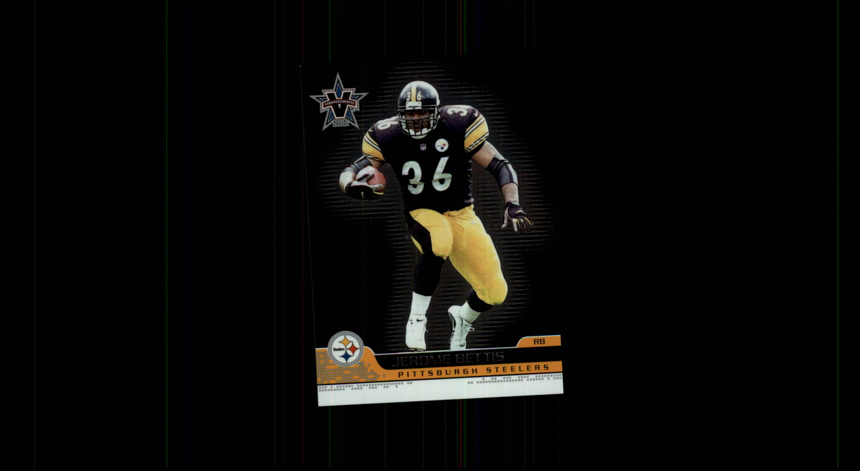 2001 Vanguard #74 Jerome Bettis