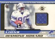 2001 Vanguard Double Sided Jerseys #31 Desmond Howard/Tony Martin
