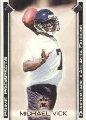 2001 Vanguard Prime Prospects Bronze #1 Michael Vick