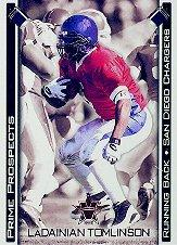 2001 Vanguard Prime Prospects Bronze #29 LaDainian Tomlinson