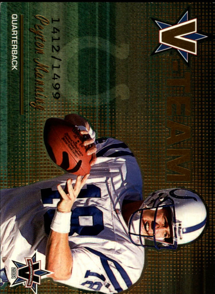 2001 Vanguard V-Team #11 Peyton Manning