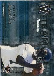 2001 Vanguard V-Team Rookies #1 Michael Vick