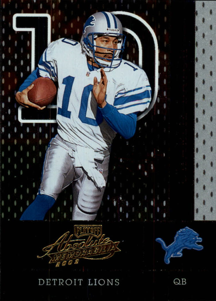 2002 Absolute Memorabilia #19 Charlie Batch