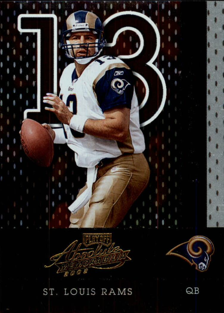2002 Absolute Memorabilia #84 Kurt Warner