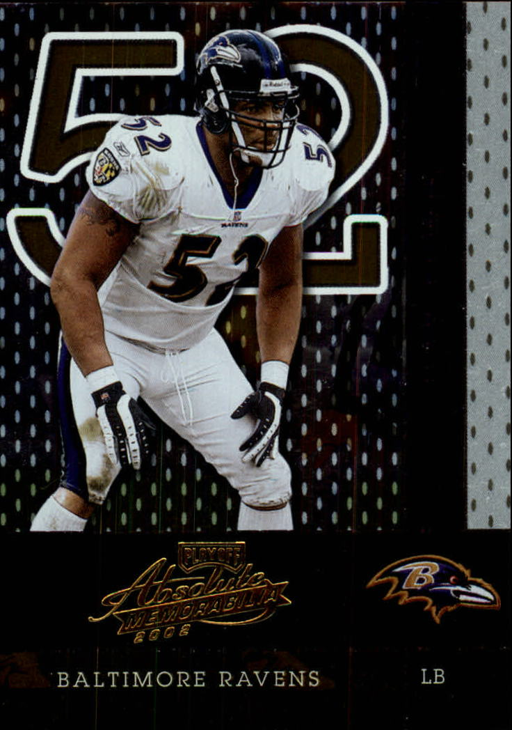 2002 Absolute Memorabilia #111 Ray Lewis