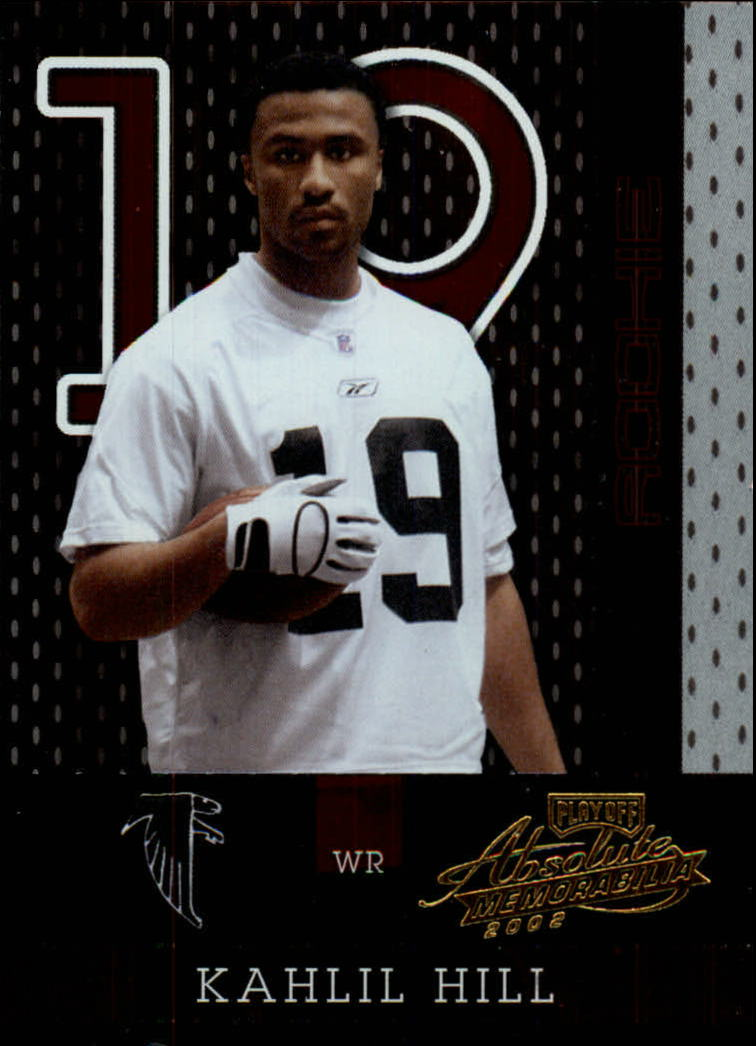 2002 Absolute Memorabilia #178 Kahlil Hill RC