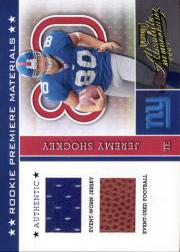 2002 Absolute Memorabilia #226 Jeremy Shockey RPM RC