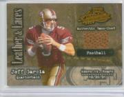 2002 Absolute Memorabilia Leather and Laces #LL41 Jeff Garcia