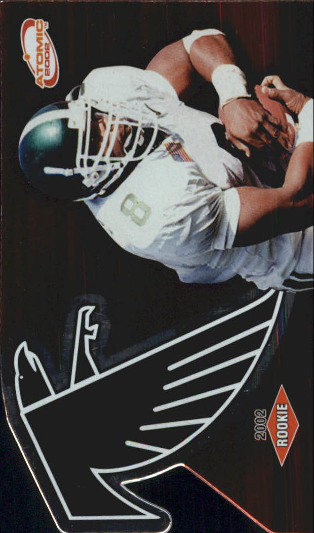 2002 Atomic Retail Rookies #109 T.J. Duckett RC
