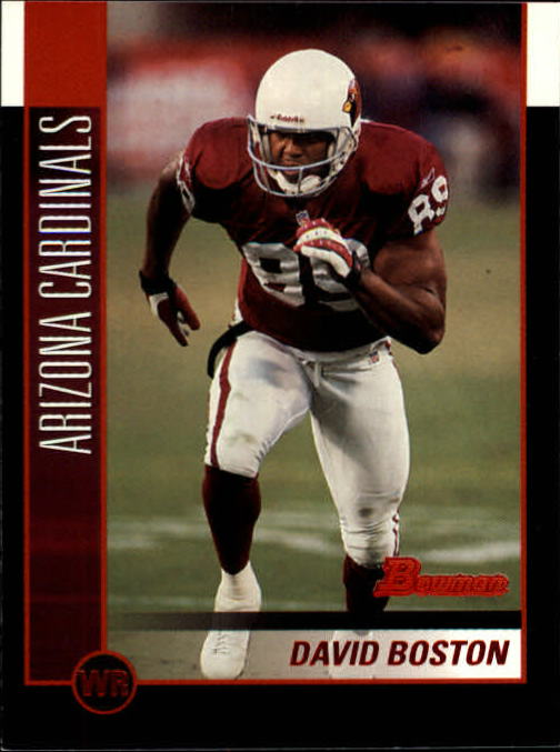 2002 Bowman #77 David Boston
