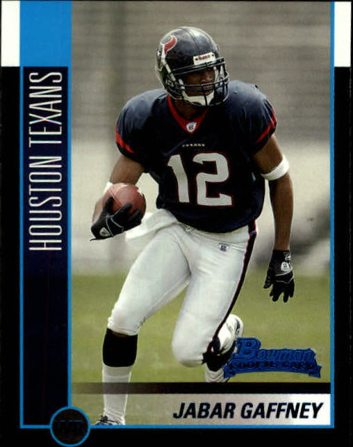 2002 Bowman #151 Jabar Gaffney RC