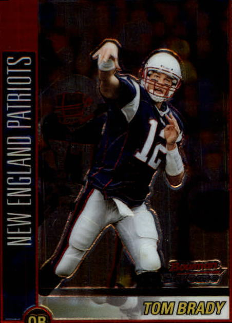 2002 Bowman Chrome #99 Tom Brady