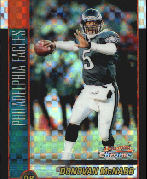 2002 Bowman Chrome Xfractors #99 Tom Brady