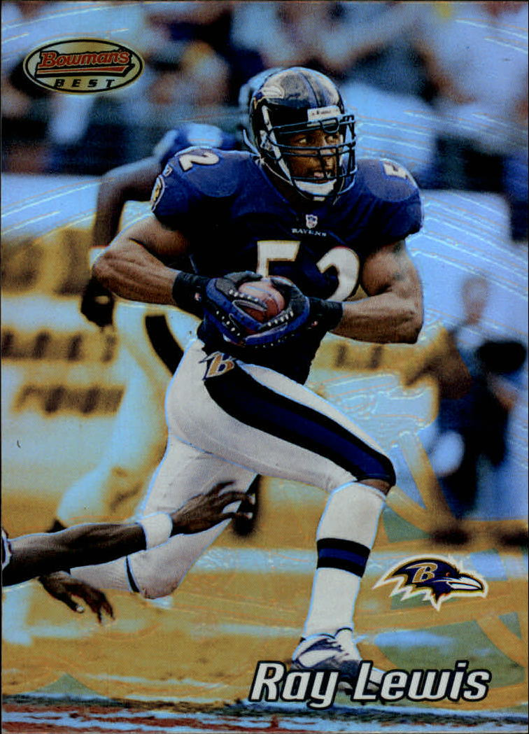 2002 Bowman's Best #26 Ray Lewis