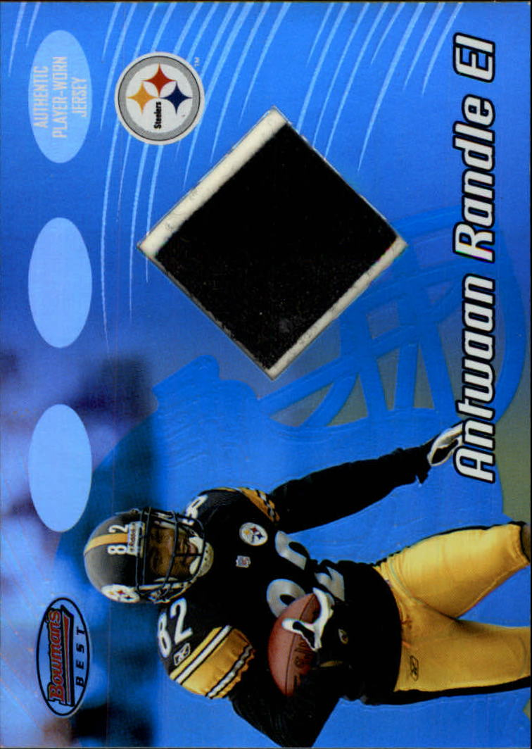 2002 Bowman's Best #96 Antwaan Randle El JSY RC