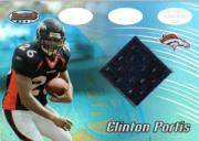2002 Bowman's Best #117 Clinton Portis JSY RC