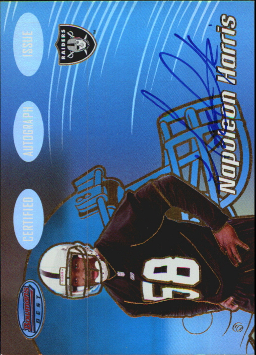 2002 Bowman's Best Gold #156 Napoleon Harris AU
