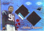 2002 Bowman's Best Red #102 Julius Peppers JSY