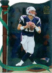 2002 Crown Royale #80 Tom Brady