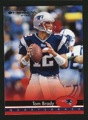 2002 Donruss #112 Tom Brady