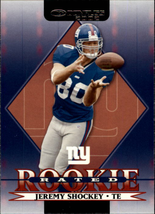 2002 Donruss #265 Jeremy Shockey RC