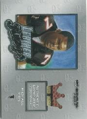 2002 Donruss Leather Kings #LK20 Michael Vick