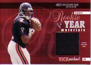 2002 Donruss Rookie Year Materials #RY10 Michael Vick