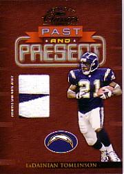 2002 Donruss Classics Past and Present Jerseys #PP6 LaDainian Tomlinson