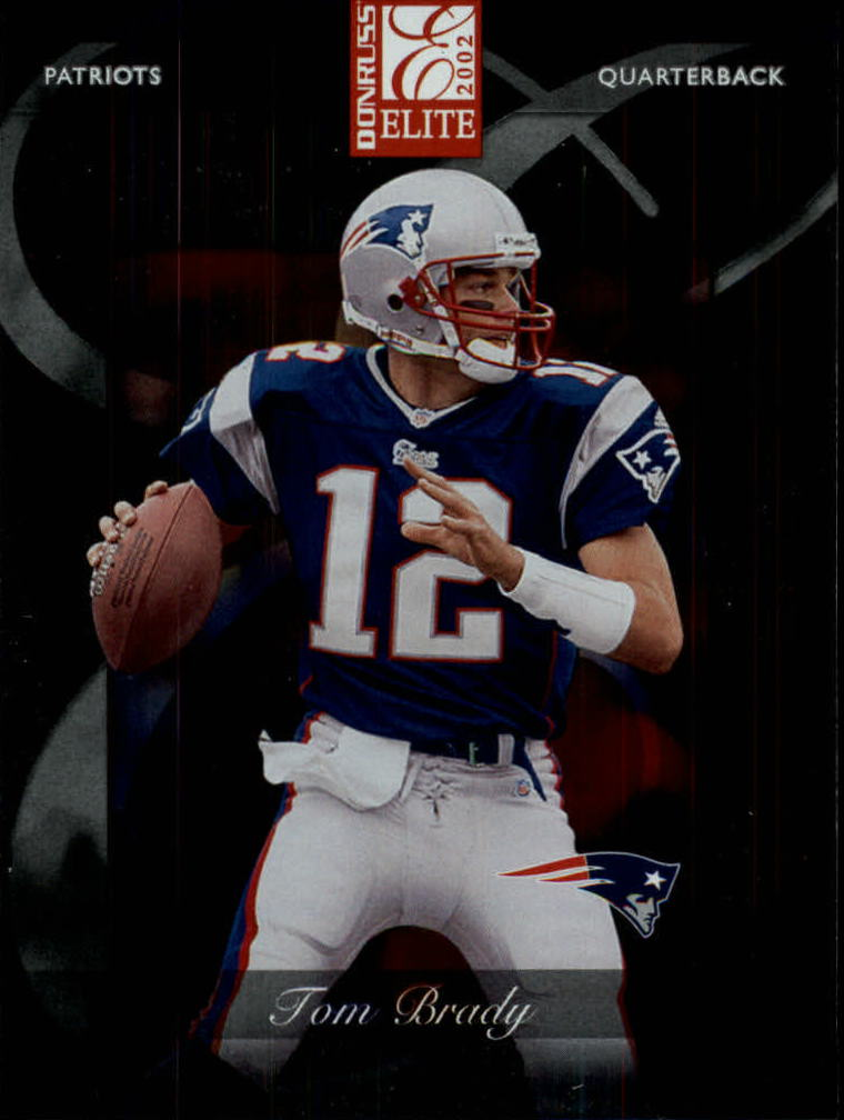 2002 Donruss Elite #30 Tom Brady