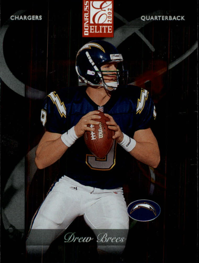 2002 Donruss Elite #48 Drew Brees