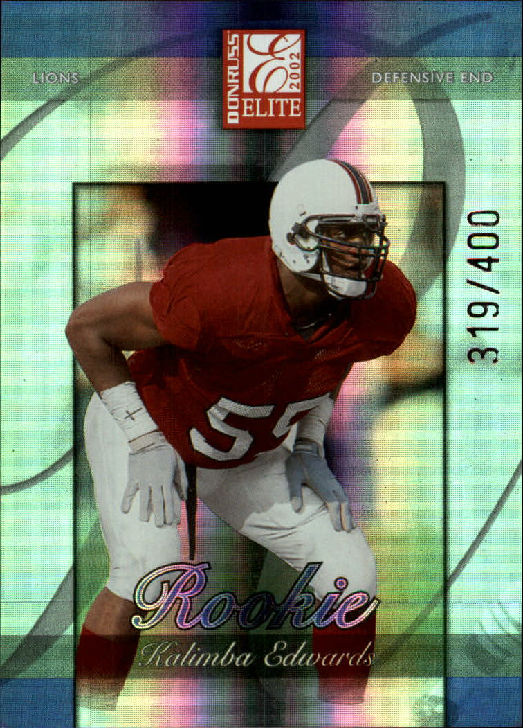 2002 Donruss Elite #171 Kalimba Edwards RC