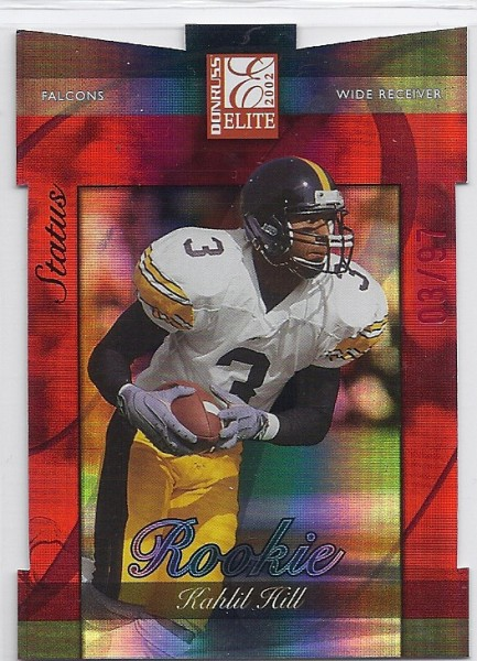 2002 Donruss Elite Status #158 Kahlil Hill/97