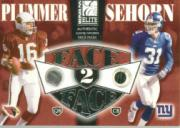 2002 Donruss Elite Face to Face #FF4 Jake Plummer/Jason Sehorn