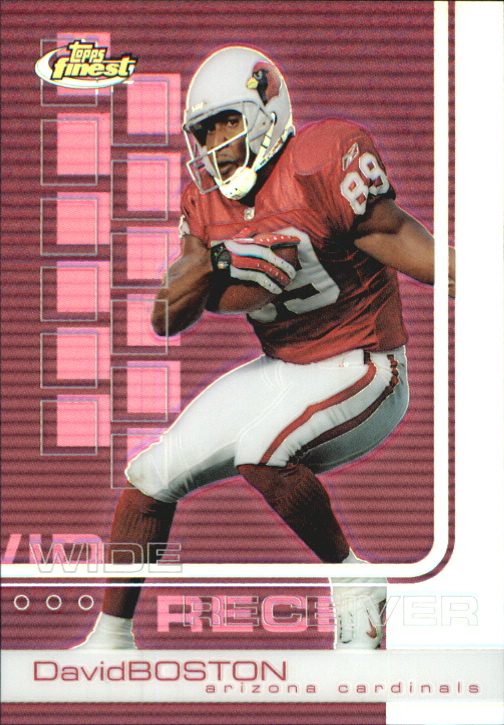 2002 Finest #27 David Boston