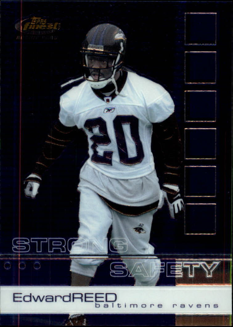 2002 Finest #109 Ed Reed RC