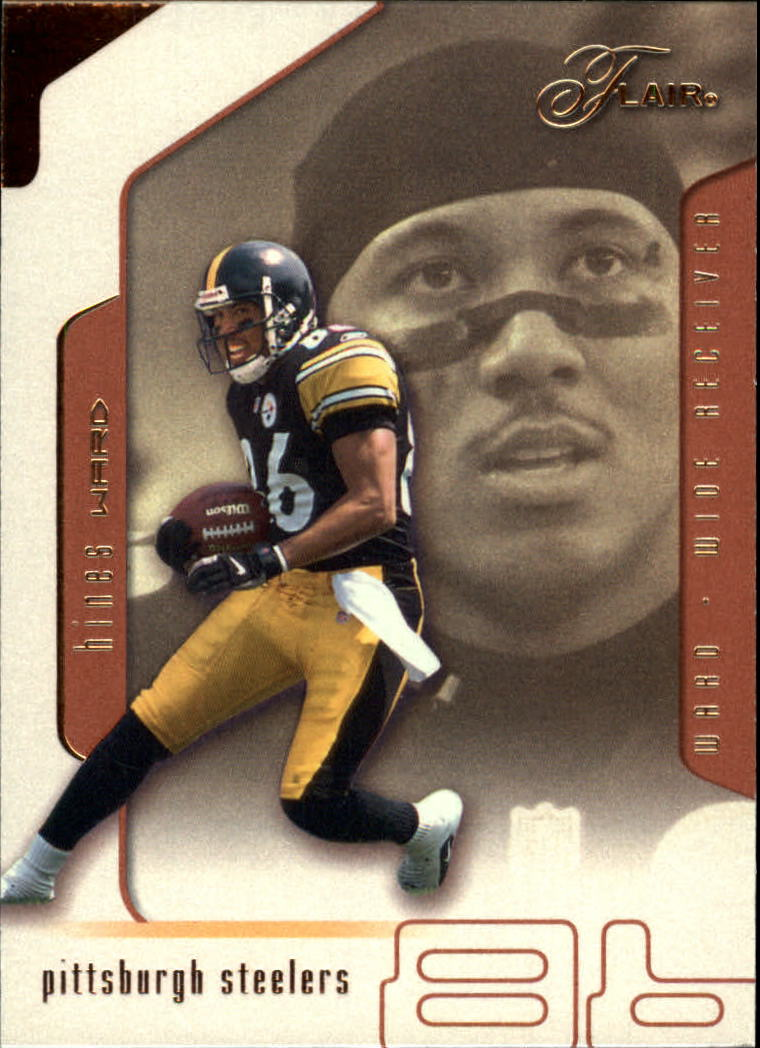 2002 Flair #25 Hines Ward