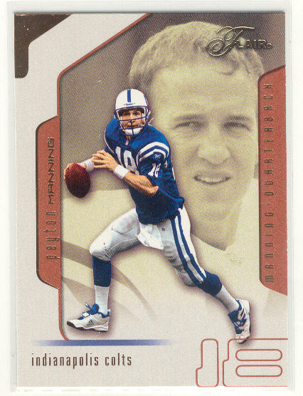 2002 Flair #28 Peyton Manning