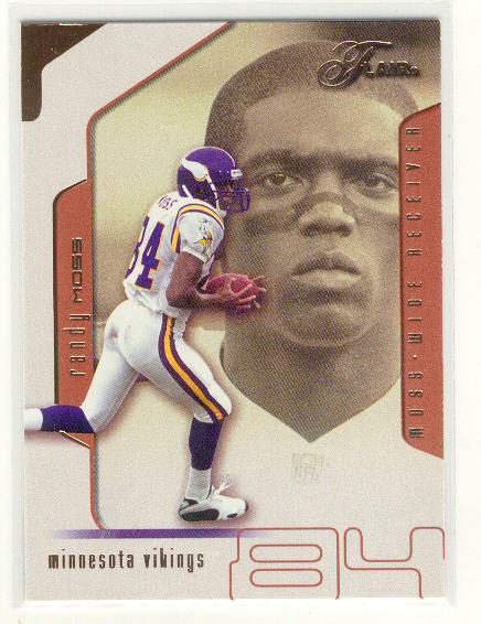 2002 Flair #31 Randy Moss